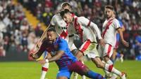 Rayo Vs Barcelona: Penalti Mephis Gagal, Los Cules Tumbang