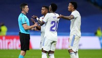 Ketika Wasit Semprot Pemain Real Madrid soal Tambahan Waktu