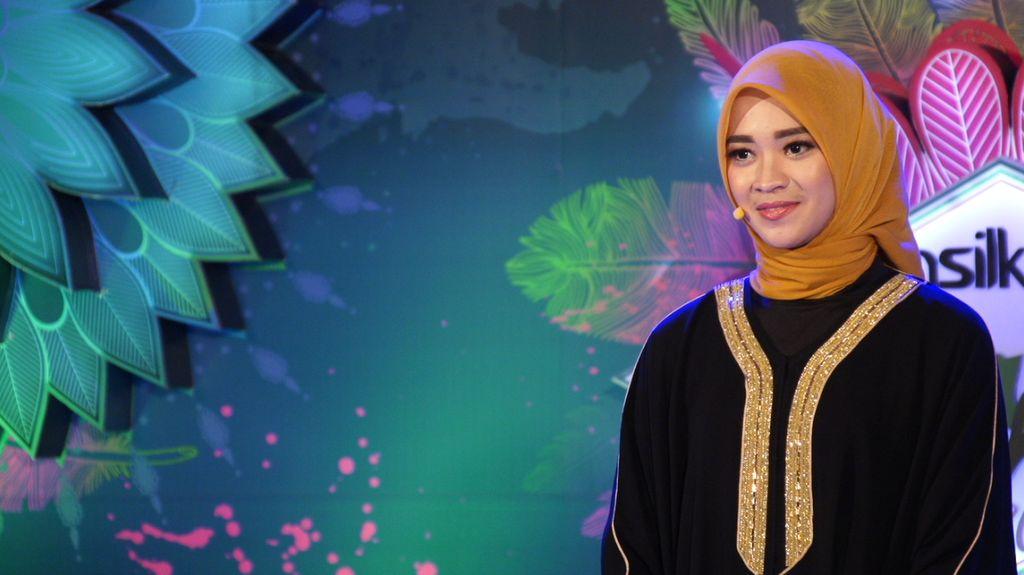 30 Besar Sunsilk Hijab Hunt 2017 Bandung - Wulan Dasnira