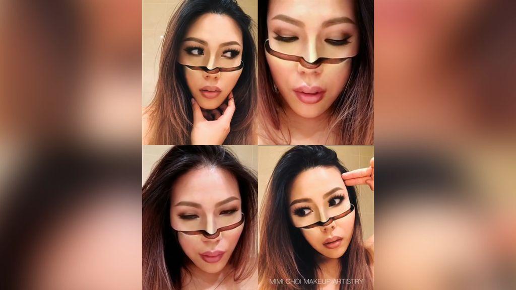 Ngeri! Makeup Artist Ini Bikin Wajahnya Terbelah