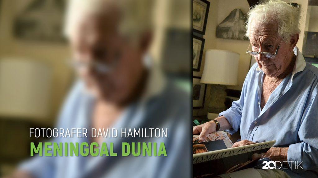 Fotografer David Hamilton Ditemukan Meninggal di Paris