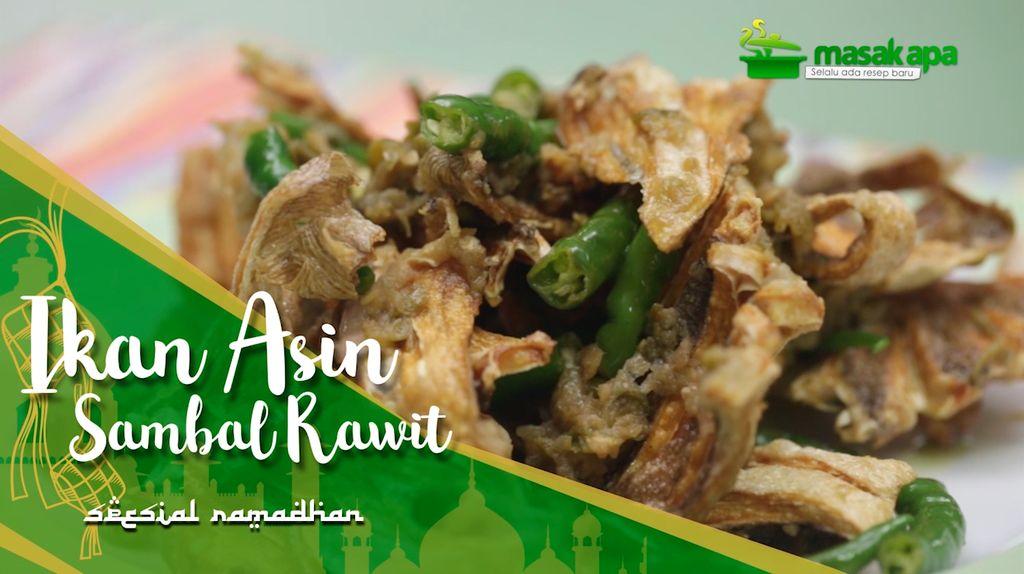 Ikan Asin Sambal Rawit