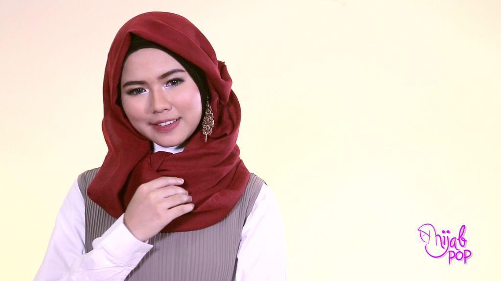 Hijab Style: Gaya Hijab dengan Anting Ala Nabilrach