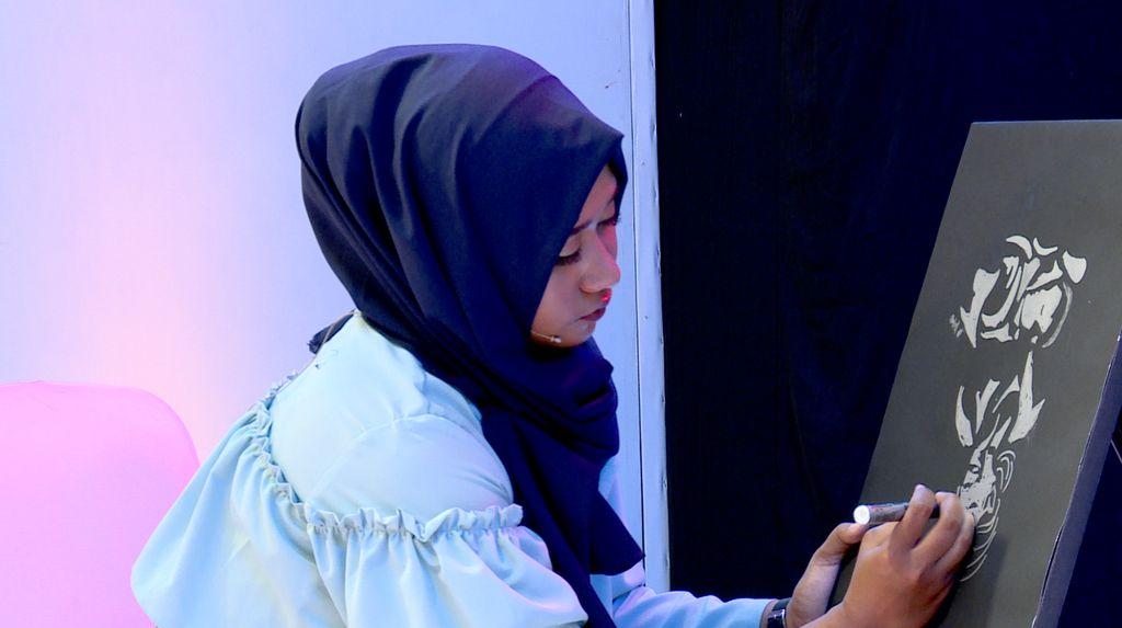 20 Besar Sunsilk Hijab Hunt 2017 Yogyakarta - Dita Luthfiani Furu