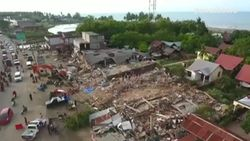 Drone Suasana Kerusakan Gempa Aceh