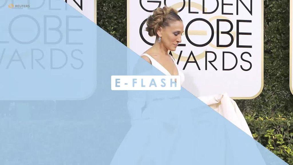 Gaya Sarah Jessica Parker Sebagai Princess Leia di Golden Globes