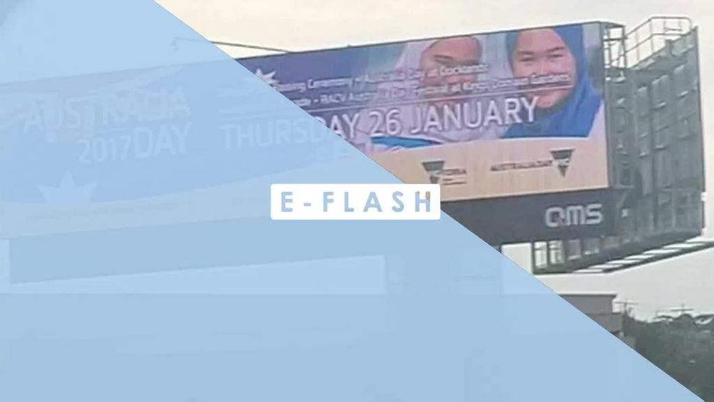 Iklan Billboard Bergambar 2 Hijabers di Australia Ini Bikin Heboh