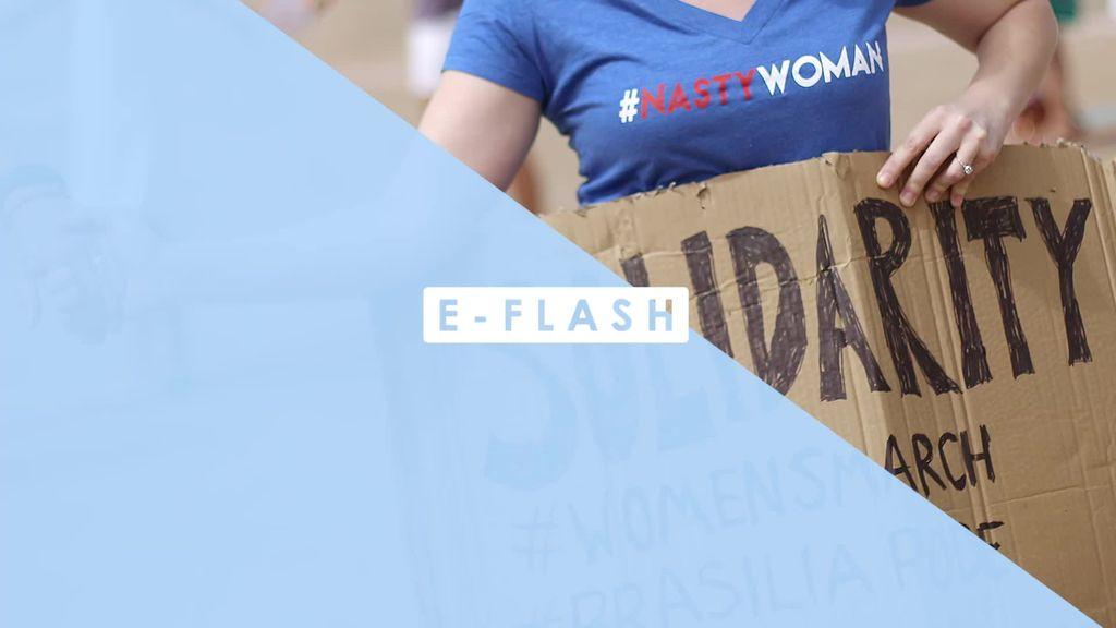 Sederet Selebriti Ikut Aksi Woman's March