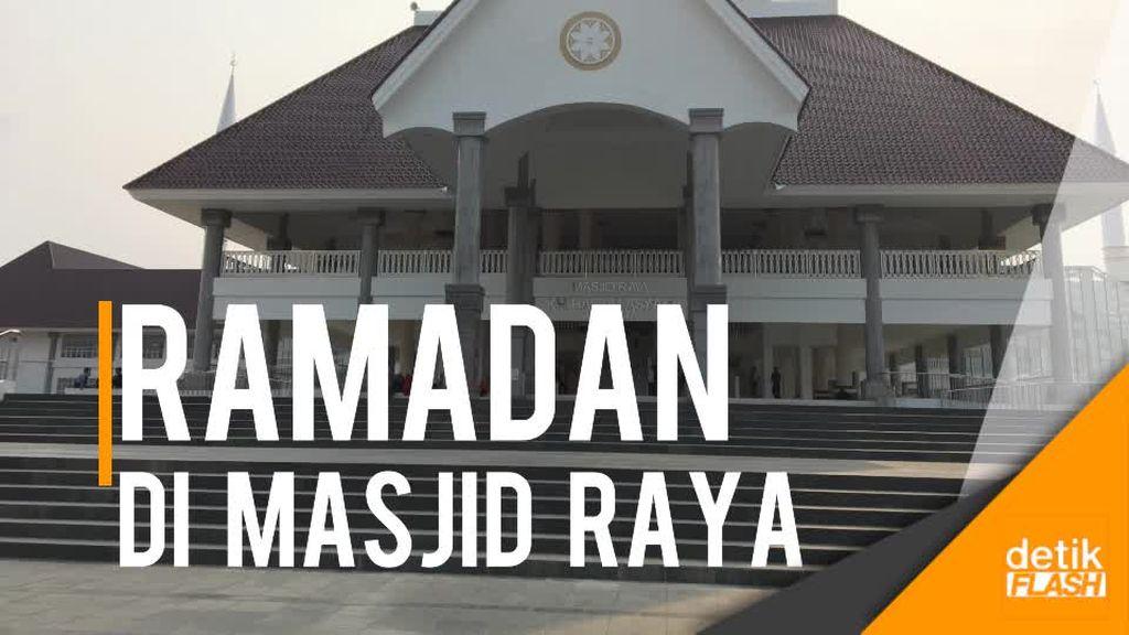 Masjid Raya Daan Mogot Siap Sambut Ramadan