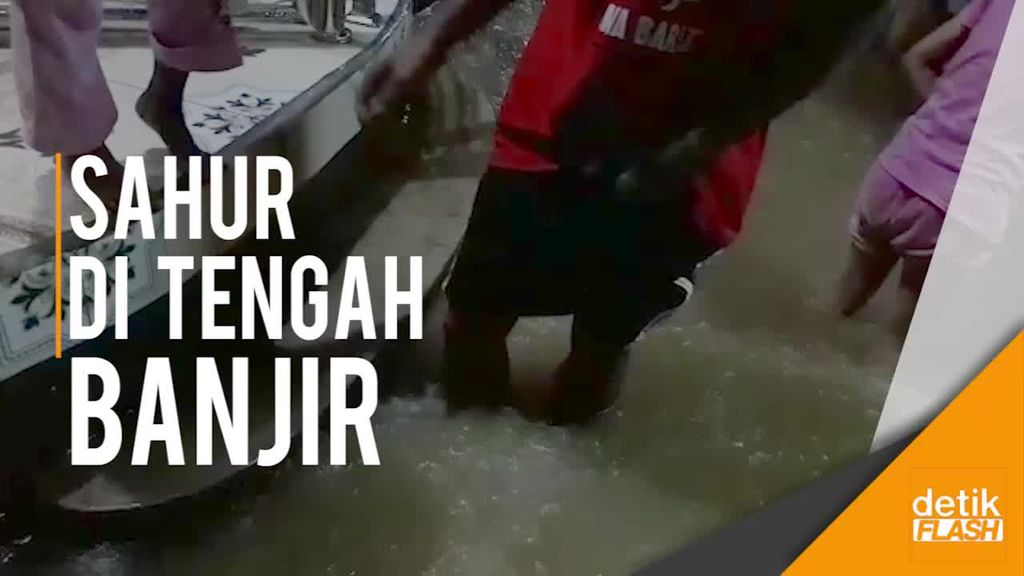 Banjir di Kabupaten Bandung Muncul Tengah Malam