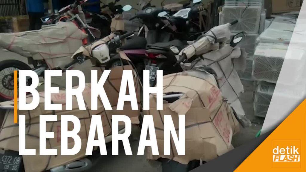 H-4 Lebaran, Pengiriman Sepeda Motor di Bandung Meningkat