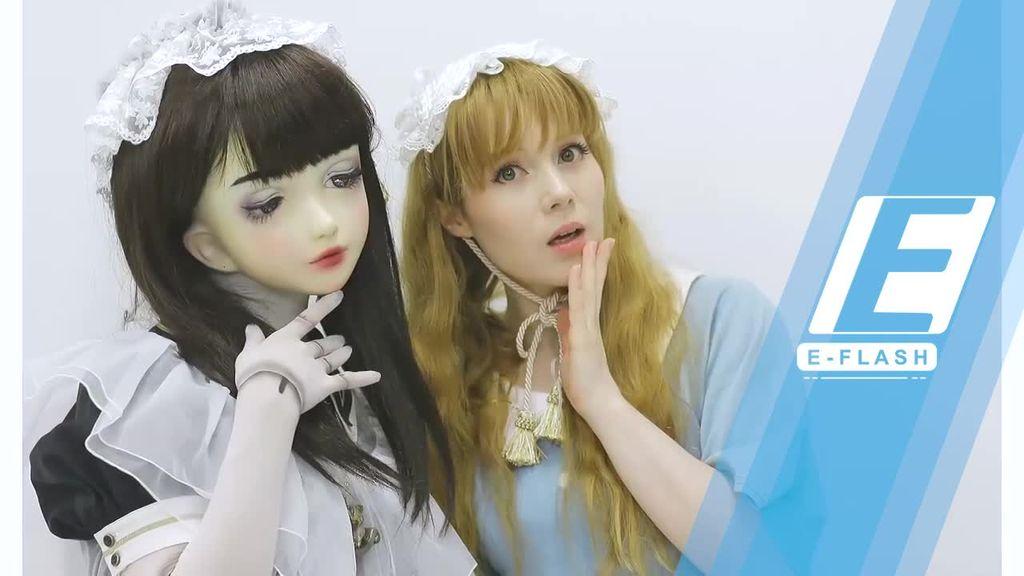 Lulu Hashimoto Si Boneka Hidup Pertama yang Jadi Foto Model