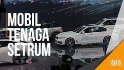 Serbuan Mobil Listrik BMW