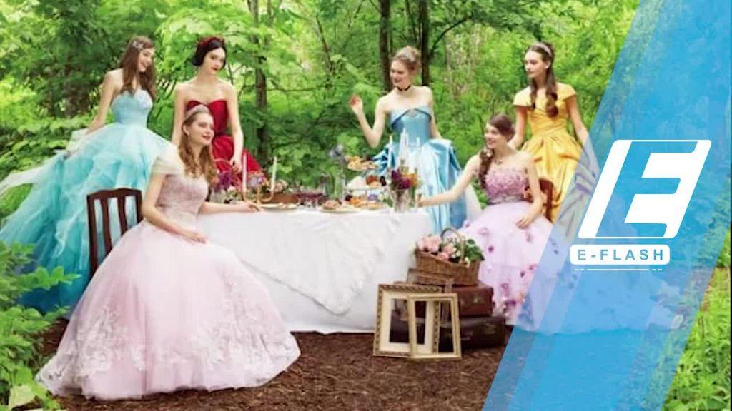 Inspirasi Gaun Pengantin ala Putri Disney