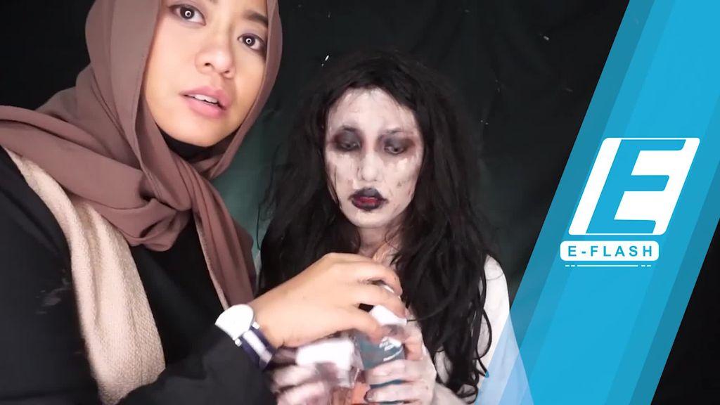 Tutorial Makeup ala Setan di Film Pengabdi Setan