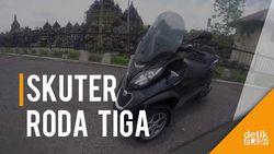 Piaggio MP3 500 Business: Skuter Premium dengan Fitur Multimedia