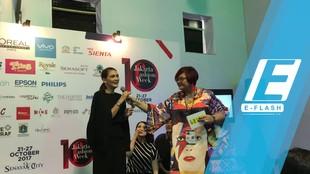 Luna Maya cs Pamerkan Koleksi dari Bio-plastik di JFW 2018