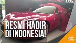 Mobil Terkuat Buatan Ferrari Diluncurkan di Jakarta