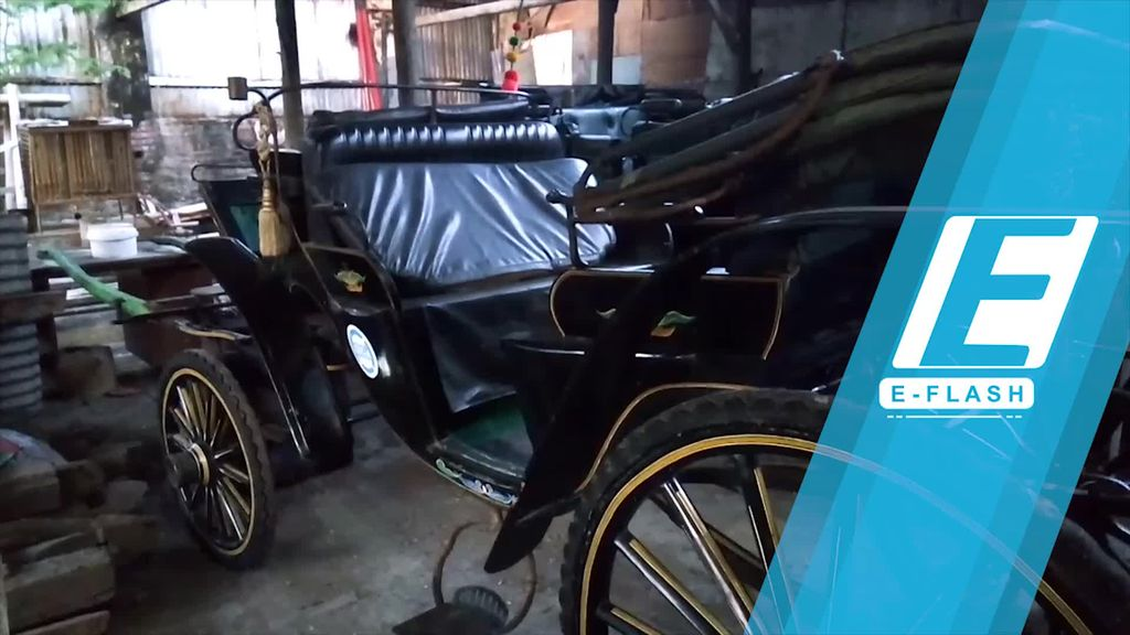 8 Kereta Kuda Dipersiapkan untuk Pernikahan Kahiyang-Bobby