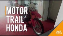 Tampilan Motor Petualang Honda CRF 150L