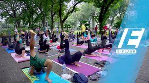 Sehat bersama Yoga Gembira, Gratis!