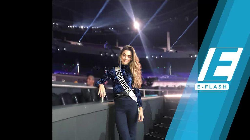 Demi-Leigh Nel-Paters dari Afsel Juarai Miss Universe 2017