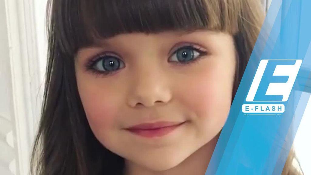 Pesona Bocah Rusia yang Disebut Paling Cantik Sedunia
