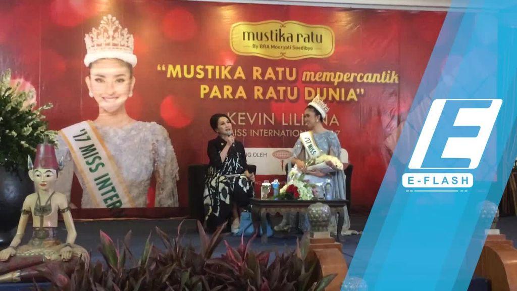 Miss International 2017 Kevin Liliana Siap Harumkan Bangsa