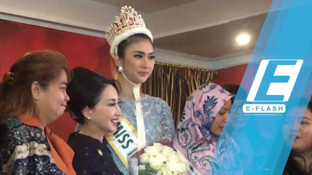 Ikut Miss International, Kevin Lilliana Keluar dari Zona Nyaman