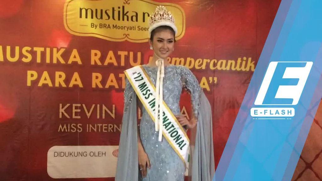 Tiba di Indonesia, Kevin Lilliana Ngidam Nasi Ayam Balado