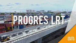 Menengok Perkembangan Proyek LRT Kelapa Gading-Velodrome