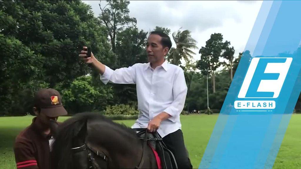 Seperti Apa Sih Aktivitas Presiden Jokowi di Waktu Senggang?