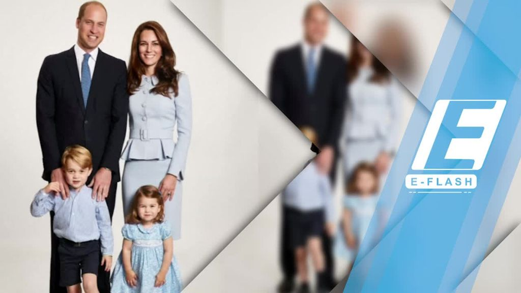 Gemasnya Foto Natal Keluarga Pangeran William dan Kate Middleton
