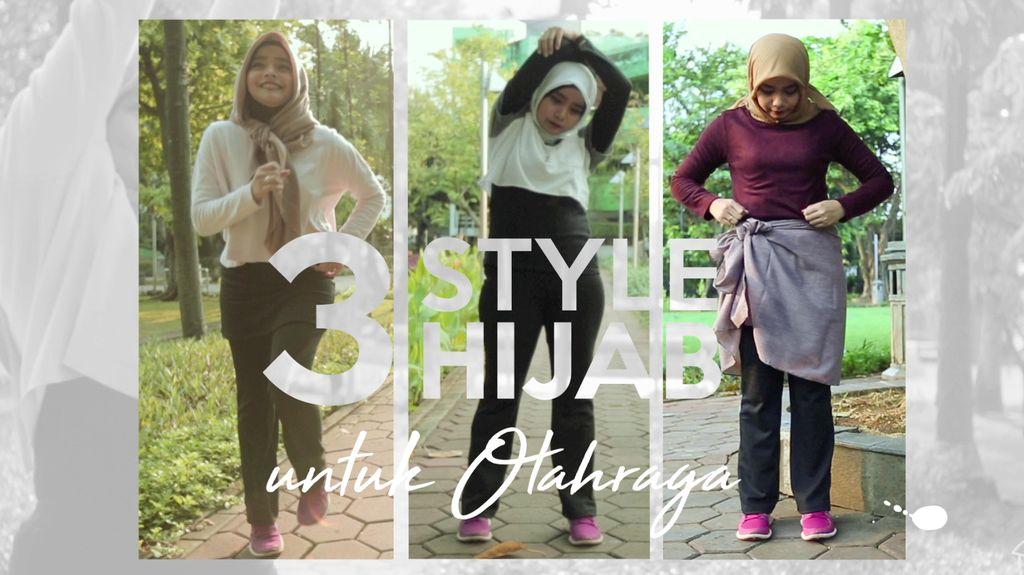 Begini Style Olahraga yang Nyaman untuk Hijabers