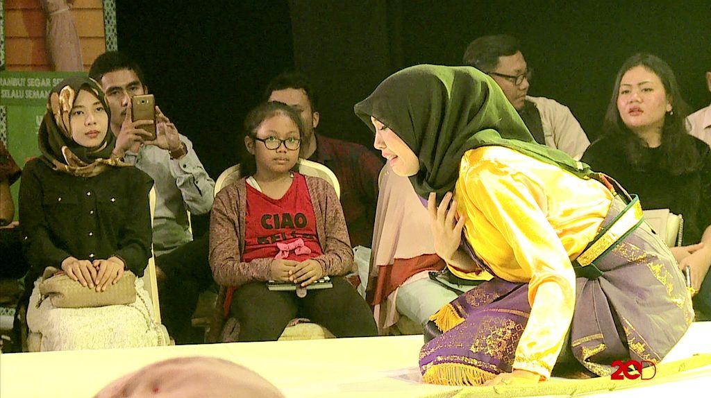 50 Besar Sunsilk Hijab Hunt 2017 - Fatimah Sania