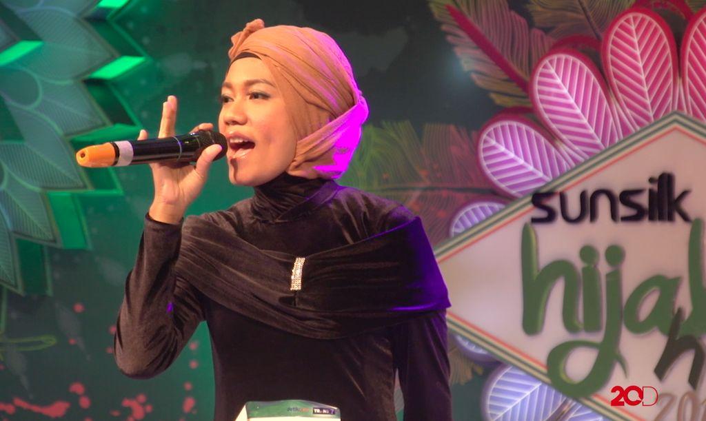 18 Besar Sunsilk Hijab Hunt 2017 Palembang - Pipin Yuliya