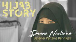 Ketetapan Hati Desainer Pertama yang Ber-niqab