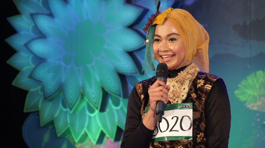 30 Besar Sunsilk Hijab Hunt 2017 Bandung - Ugy Arvioni Melancia