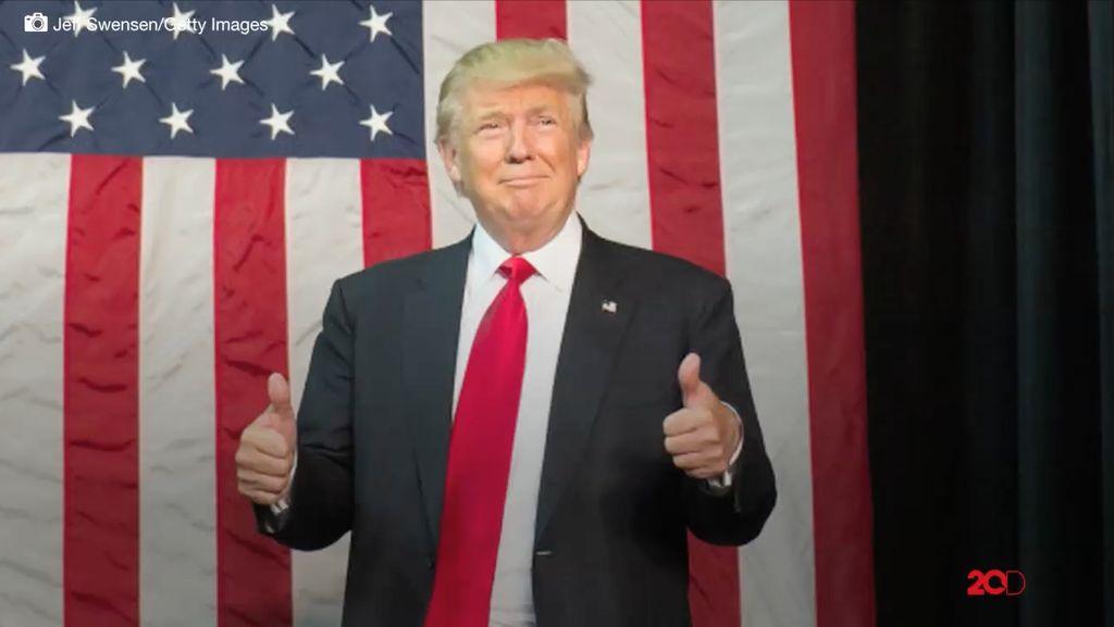 Bukan Made in USA, Jas Donald Trump Ternyata Buatan Indonesia