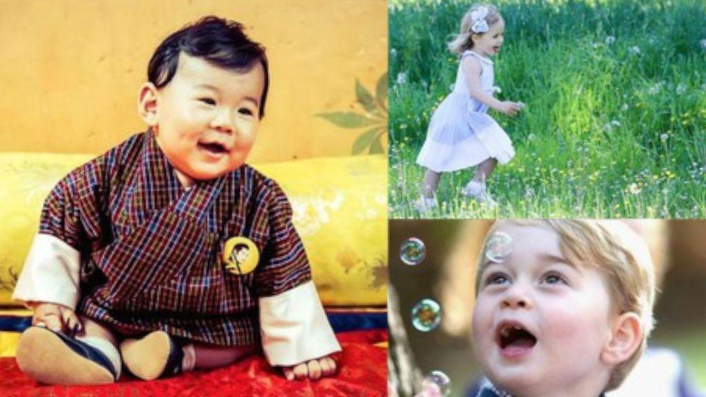 Lucunya Anak-anak Keluarga Kerajaan Ini Bikin Gemas