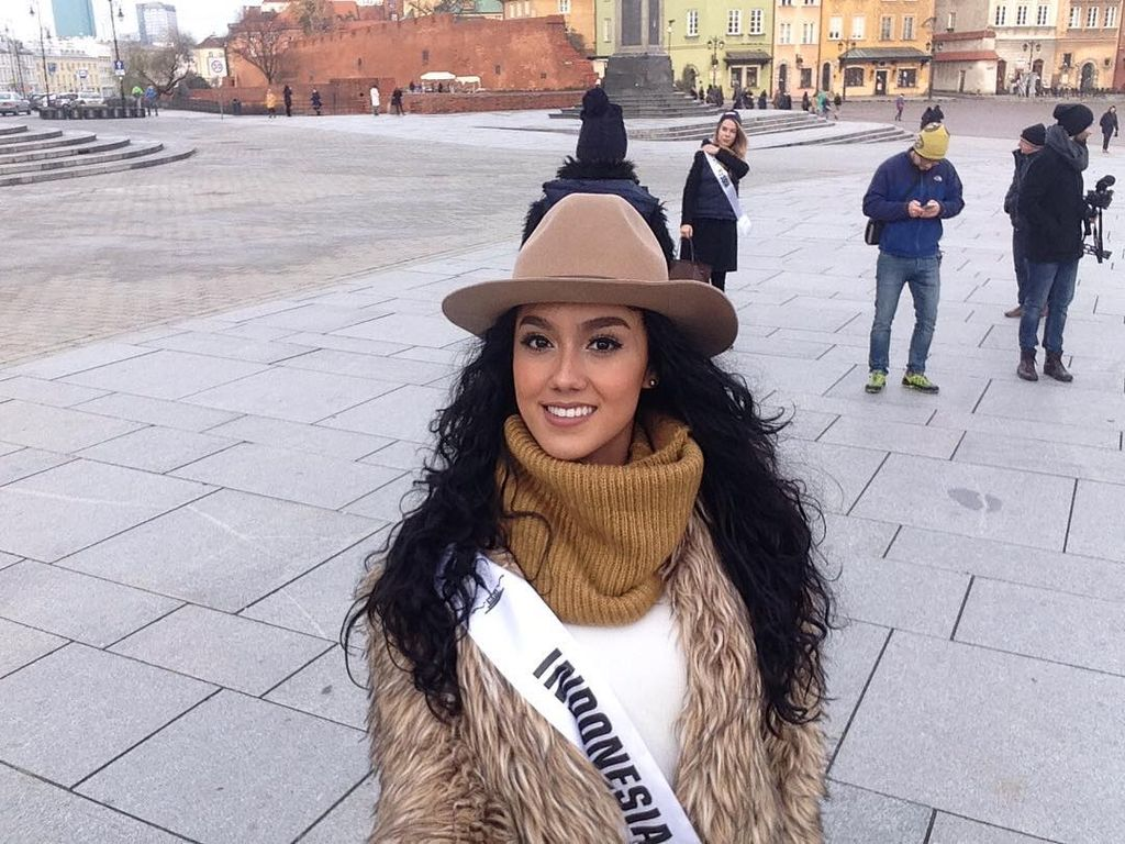 Selamat! Puteri Indonesia Masuk TOP 10 Miss Supranational 2016