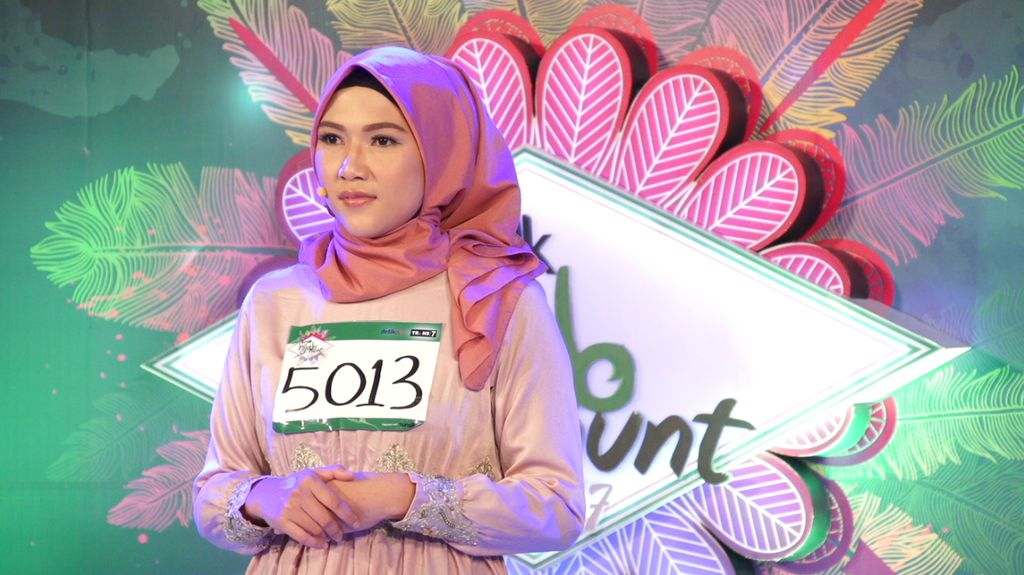 30 Besar Sunsilk Hijab Hunt 2017 Bandung - Rahmadita Oktavia