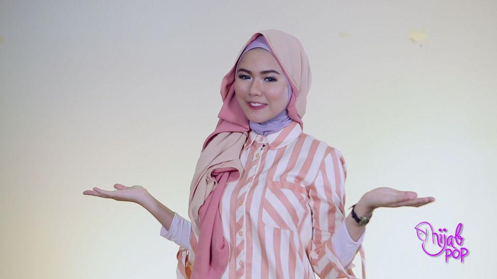 Tutorial: Hijab untuk Pipi Chubby