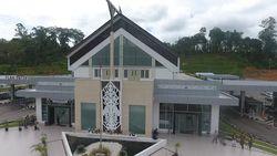 Indahnya Beranda Indonesia di Entikong