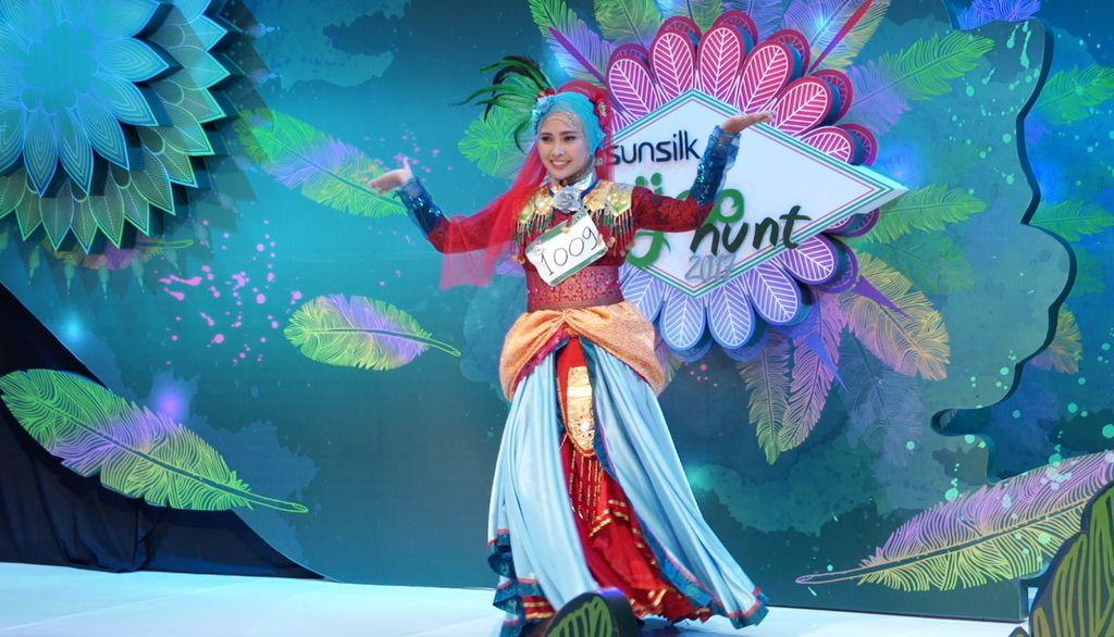 20 Besar Sunsilk Hijab Hunt 2017 Yogyakarta - Lucky Harismayanti