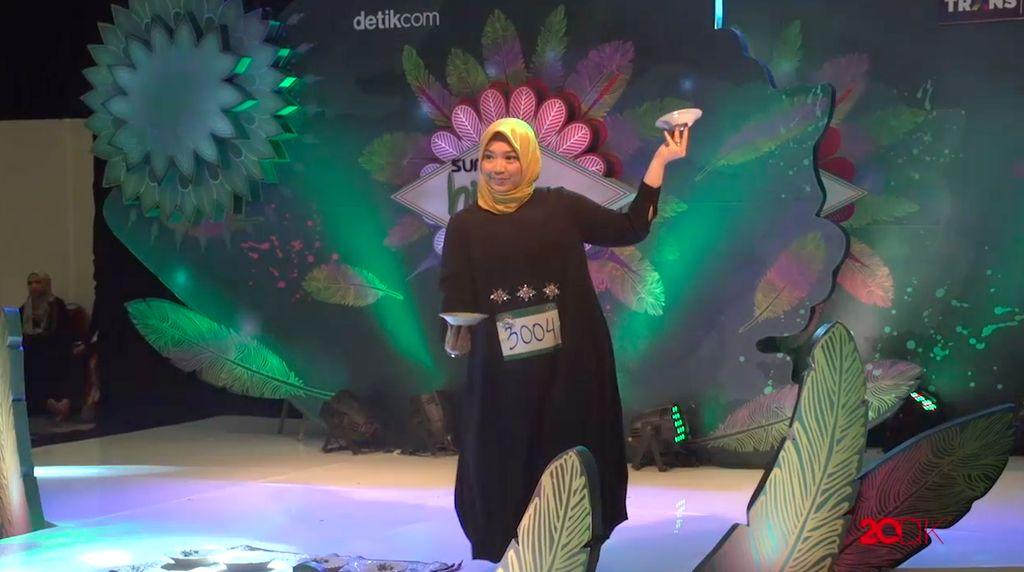18 Besar Sunsilk Hijab Hunt 2017 Palembang - Hj. Ruri Yuniarti Mj, S.I.Kom