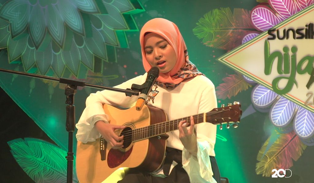 18 Besar Sunsilk Hijab Hunt 2017 Palembang - Salsabila