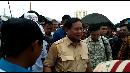 Prabowo Kampanye untuk Anies-Sandi di Kampung Akuarium