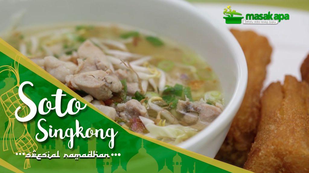 Soto Singkong