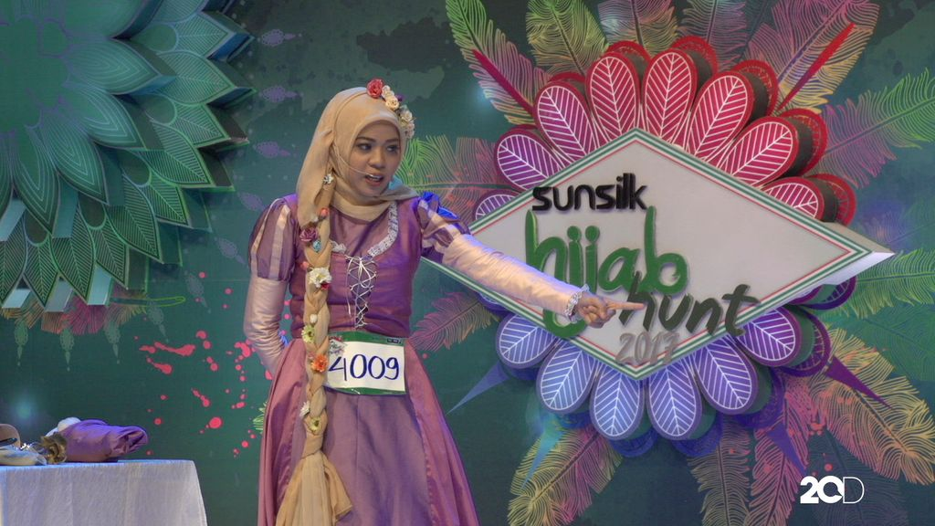 23 Besar Sunsilk Hijab Hunt 2017 Medan - Cut Vira Junischa Azhari